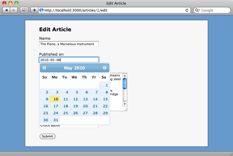 The dropdowns have now been replaced by a textbox with a calendar popup.