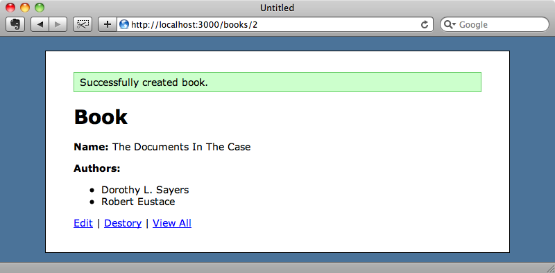 The authors are correctly added to the book when it is saved.